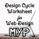 Design Cycle Template, Web Design Unit - Computer Tech MYP