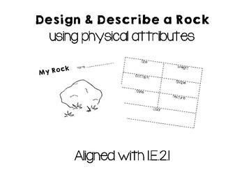 Design & Describe a Rock Using Physical Attributes