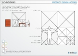 Design Drawing - Bi-Sectional Proportion Poster