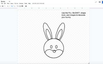 Design Easter with Google Drawings! (Google Classroom, Digital Art)