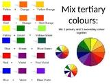 Design Elements - Colour, Line, Space, Shape, Value, Texture