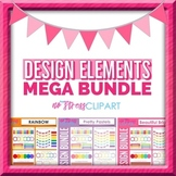 Design Elements Mega Bundle (Digital Use Ok!)