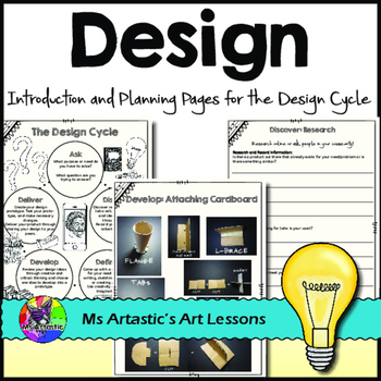 Design Process Planning Pages for the Design Cycle FOR ANY