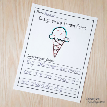 Design It Yourself Writing Challenges