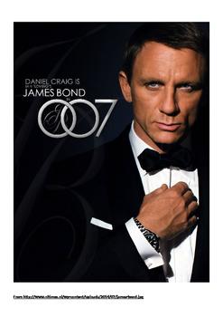 Design James Bond Walking Stick