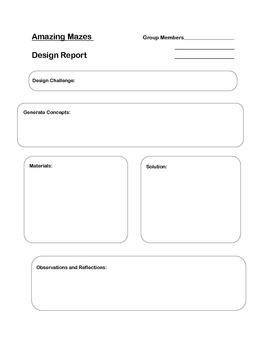 Design Lab Report- Amazing Mazes