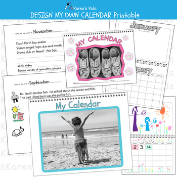 Design My Own Calendar