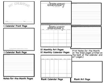Design My Own Calendar Kit - Ready to Use