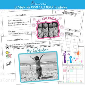 Design My Own Calendar