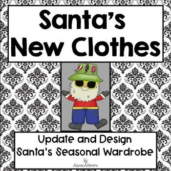 Design New Seasonal Clothes for Santa Tab Book