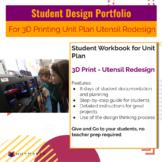 Student Design Portfolio: Utensil Redesign 3D Printing Challenge