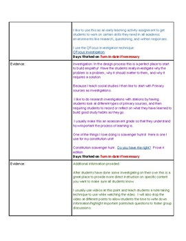 Design Process Full Unit Outline and student playlist in 1!