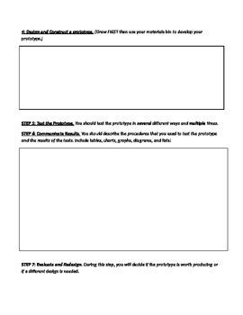 Design Process Outline