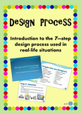 Design Process PowerPoint - 7 Steps designers take - Design & Technologies