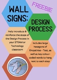 Design Process Wall Signs FREEBIE
