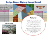 Editable Design Shapes Mystery Image Reveal (Template) 17Q
