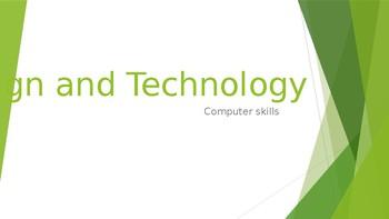 Design & Technology - Computer skills