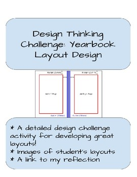 Design Thinking Challenge: Yearbook Layout Design