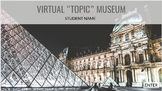 Virtual Museum Template with Google Slides