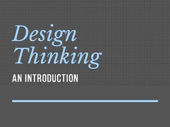 Design Thinking: Overview