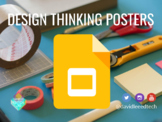Design Thinking Principles Posters for Empathy Work and Ideation