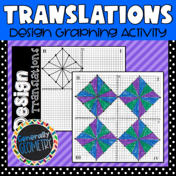 Design Translations Graphing Activity; Geometry, Transformations