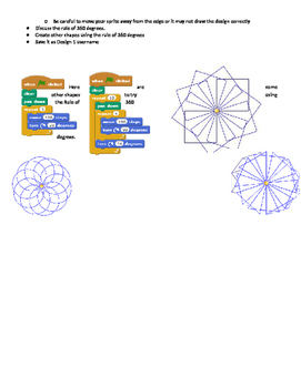 Design With Shapes in Scratch