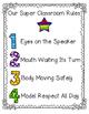 Design Your Classroom Rules {Superhero Themed!}