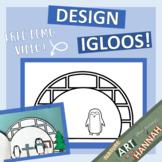 Design Your Dream Igloo: Color & Cut Craft w/ Demo Video!