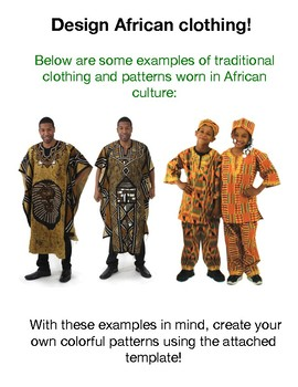 Design Your Own African Clothing