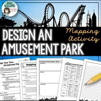 Map Skills - Design Your Own Amusement Park