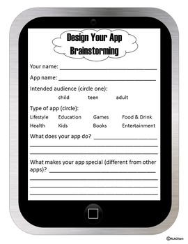 Design Your Own App: A STEAM Activity