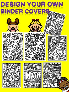 Design Your Own Binder Covers-Back to School Organization and Fun!