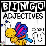Adjectives Bingo Game
