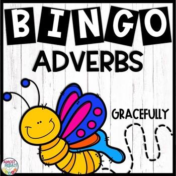Adverbs Bingo Game