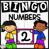 Numbers to 20 Bingo Game