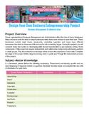 Design Your Own Business Entrepreneurship Project