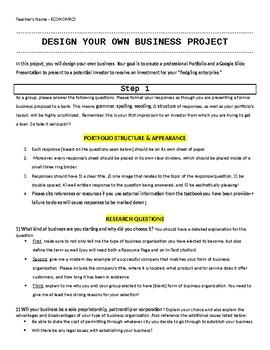 Free 12th Grade Economics Projects | Teachers Pay Teachers