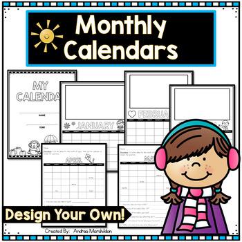 Design Your Own Calendar!