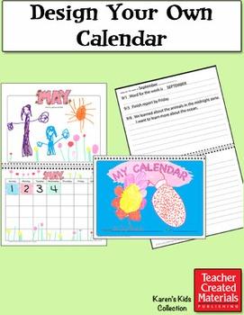 Design Your Own Calendar by Karen's Kids (Digital Download)
