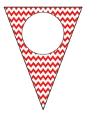 Design Your Own Chevron Pennant