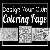 Design Your Own Coloring Page