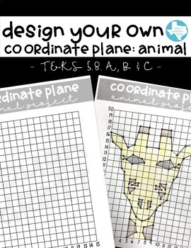 Design Your Own Coordinate Plane: Animal