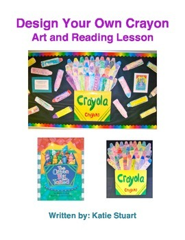 Design Your Own Crayon Art and Reading Lesson