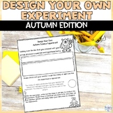 Design Your Own Experiment NGSS Activity for Fall