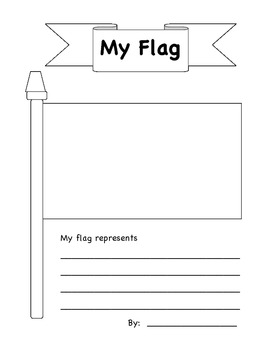 Design Your Own Flag by Megan Scatena Teachers Pay Teachers