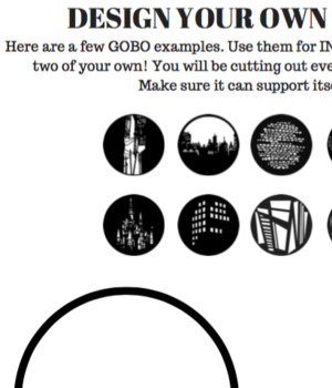 Design Your Own Gobo!