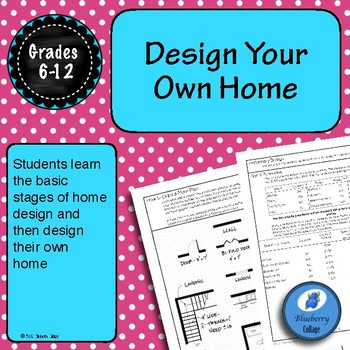Design Your Own Home - Architecture Unit