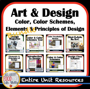 Design Your Own Bundle! Introduction, Elements and Principles (Days 1-9)