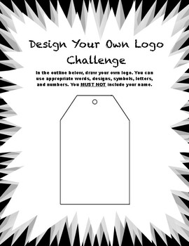 Design Your Own Logo Ice Breaker Challenge- Great for first week!